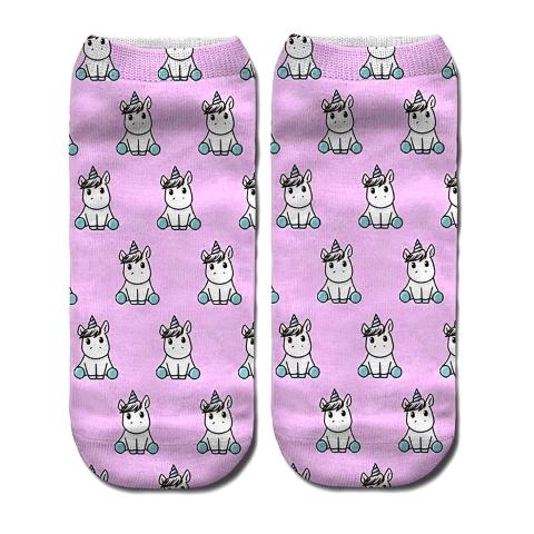 носки с единорогом